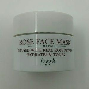 Fresh Rose face mask deluxe sample 15ml .5oz